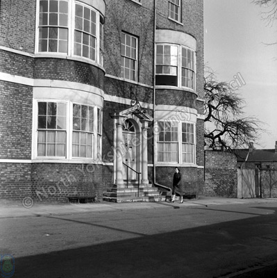 St Maurice Road, York, 1957